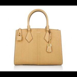 Michael Kors Casey Large Snake Leather Bag